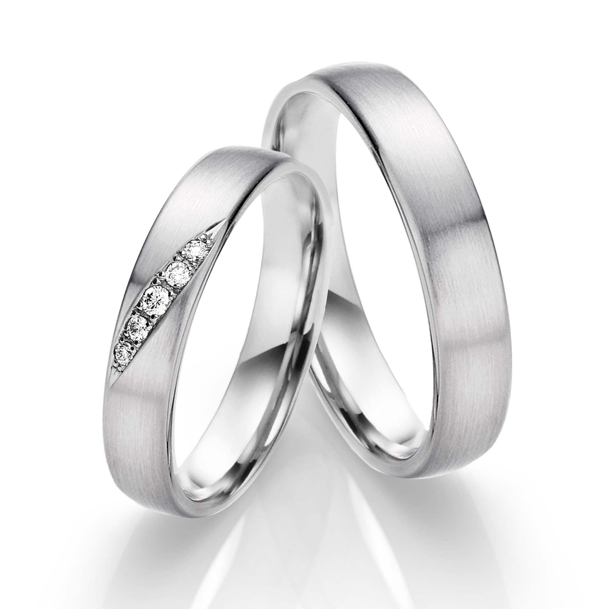 Juwelier Kraemer Trauringe Diamant 600 Platin Zus Ca 0 05 Ct