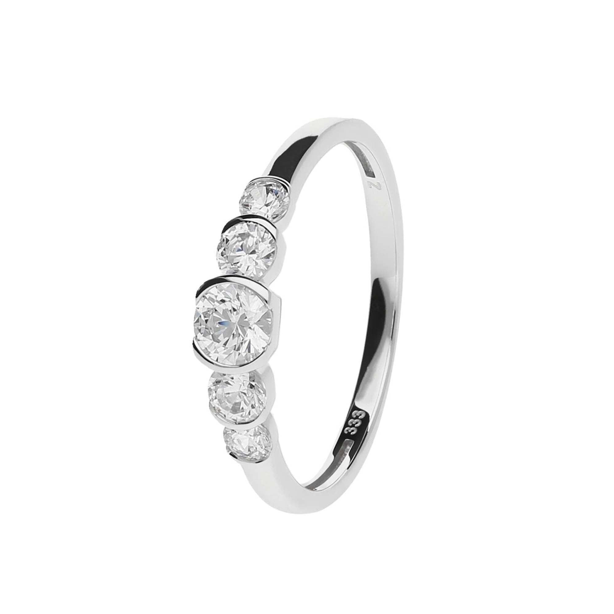 Juwelier Kraemer Ring Zirkonia 333 Gold 54 Mm Juwelier