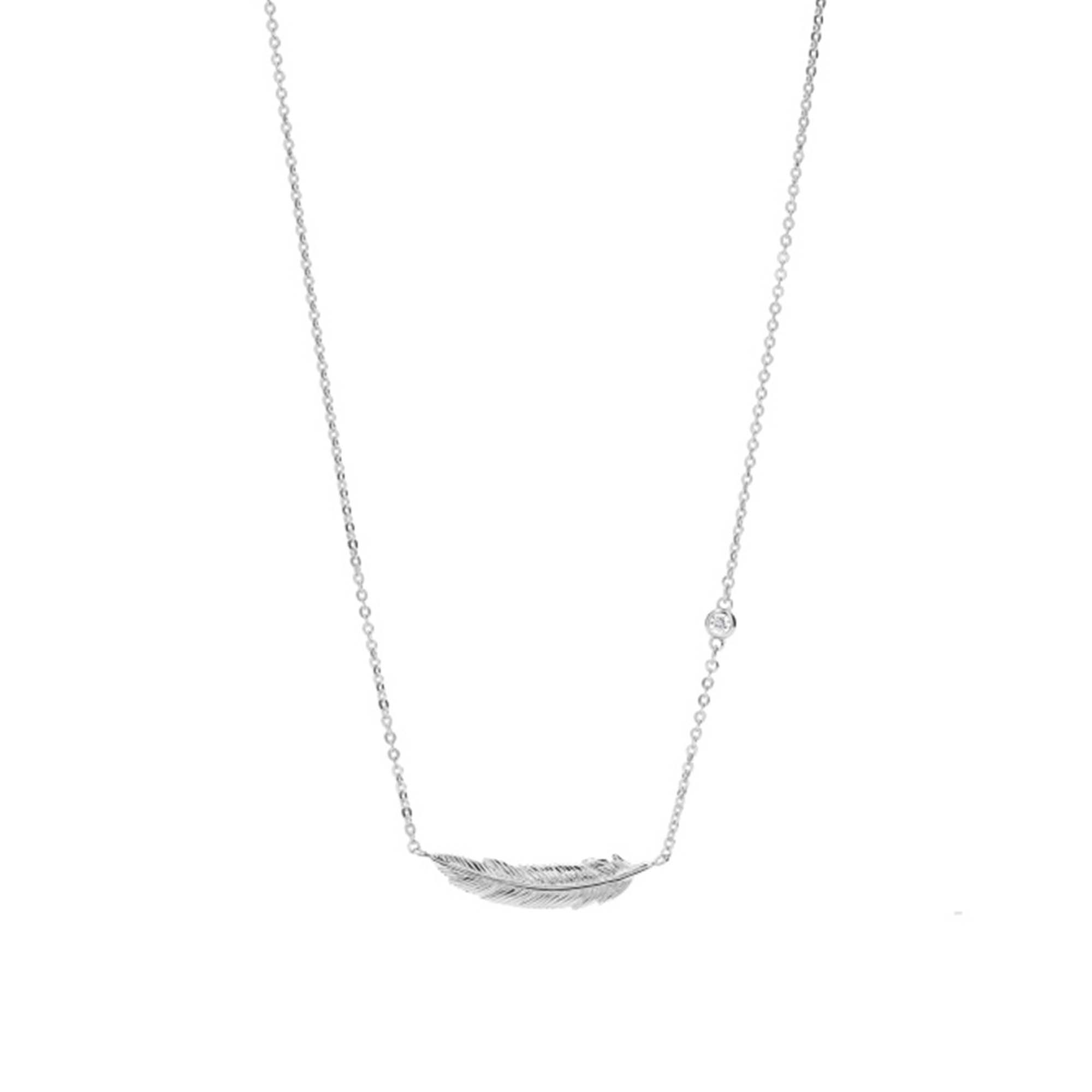 fossil kette zirkonia sterling jfs00407040 juwelier kraemer onlineshop. Black Bedroom Furniture Sets. Home Design Ideas