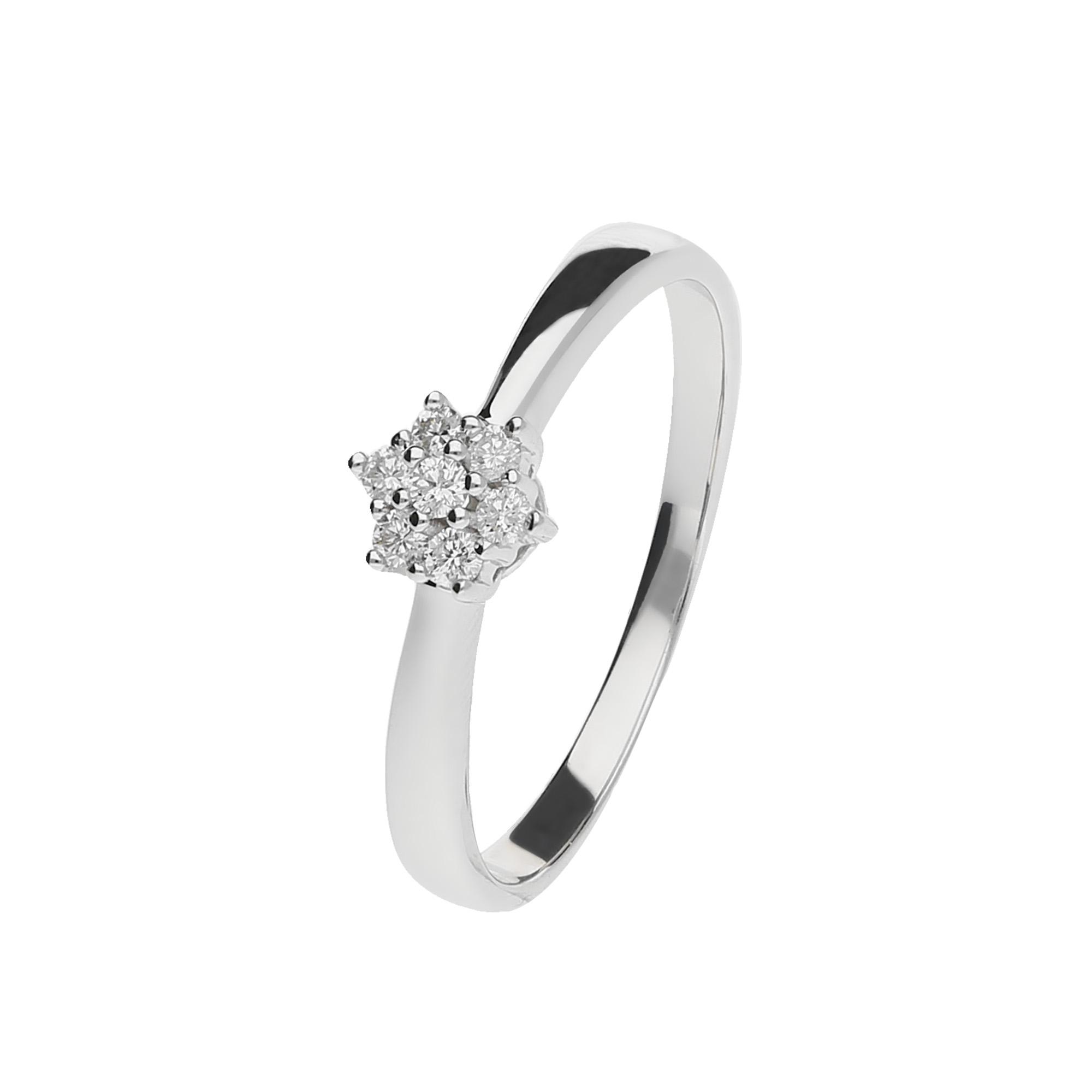 Juwelier Kraemer Ring Diamant 333 Gold Zus Ca 0 10 Ct 50 Mm