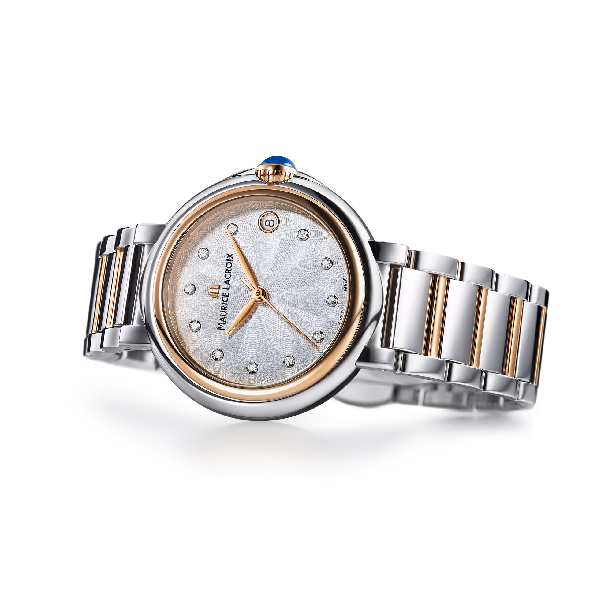 Maurice Lacroix Uhr Diamant Fiaba Date Fa1004 Pvp13 150 1