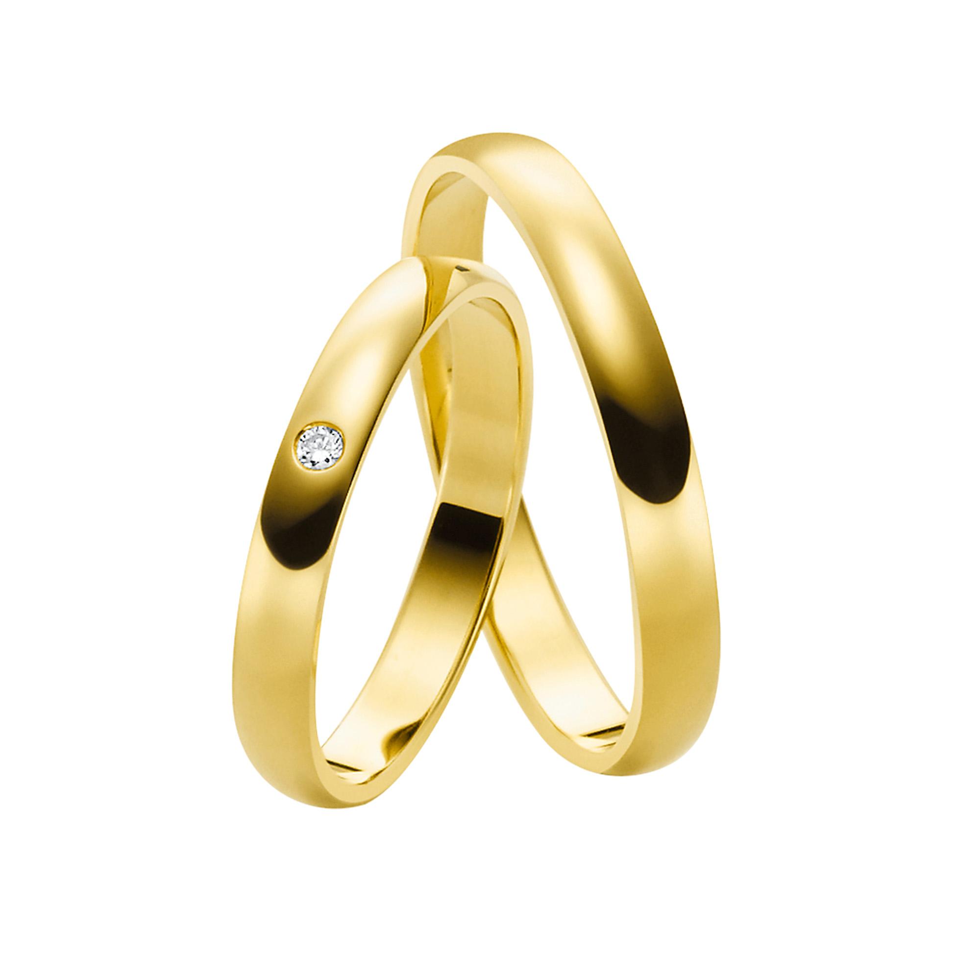 Juwelier Kraemer – Trauring Gold MAINZ – 60 mm –