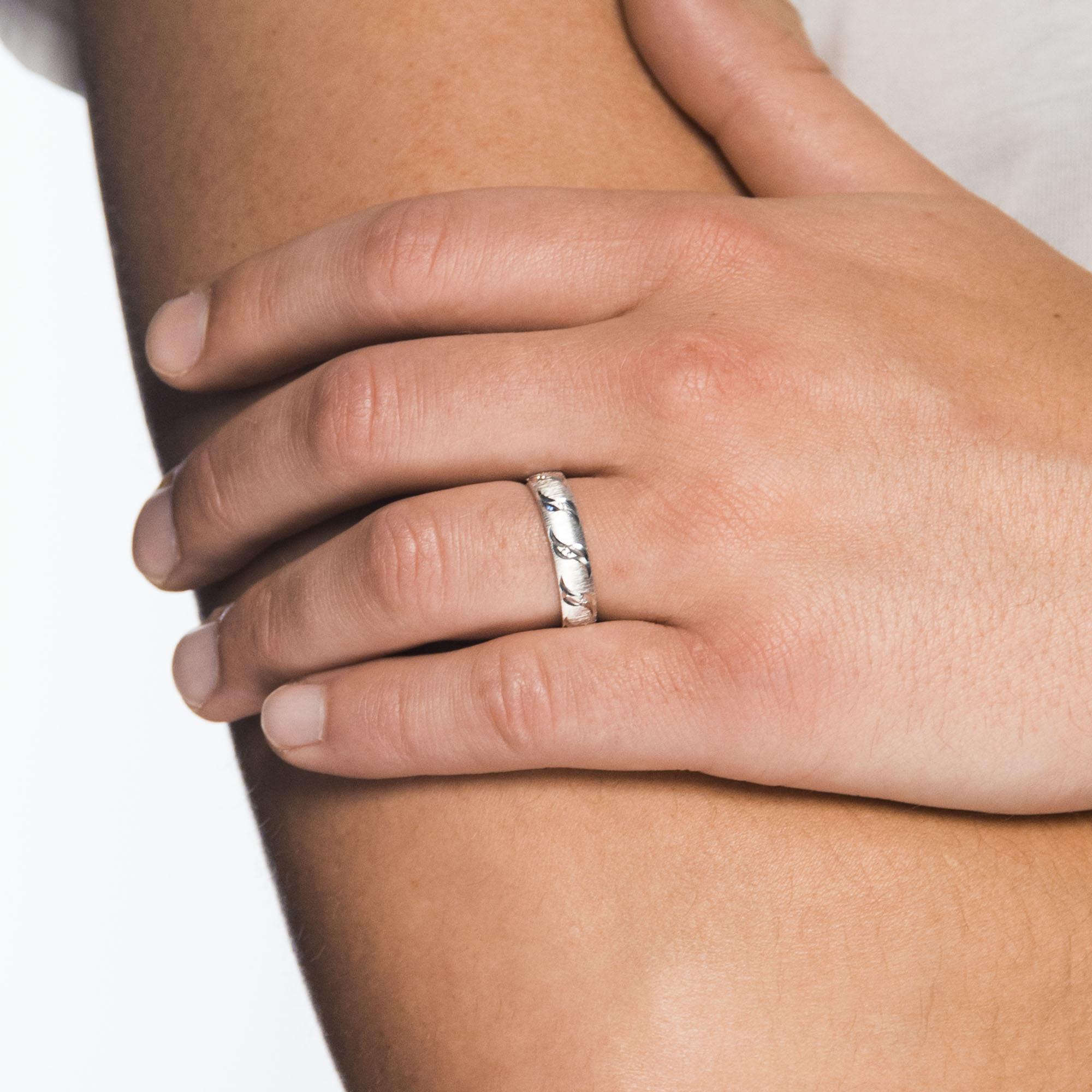 Juwelier Kraemer Freundschaftsringe Zirkonia 925 Silber 56 Mm