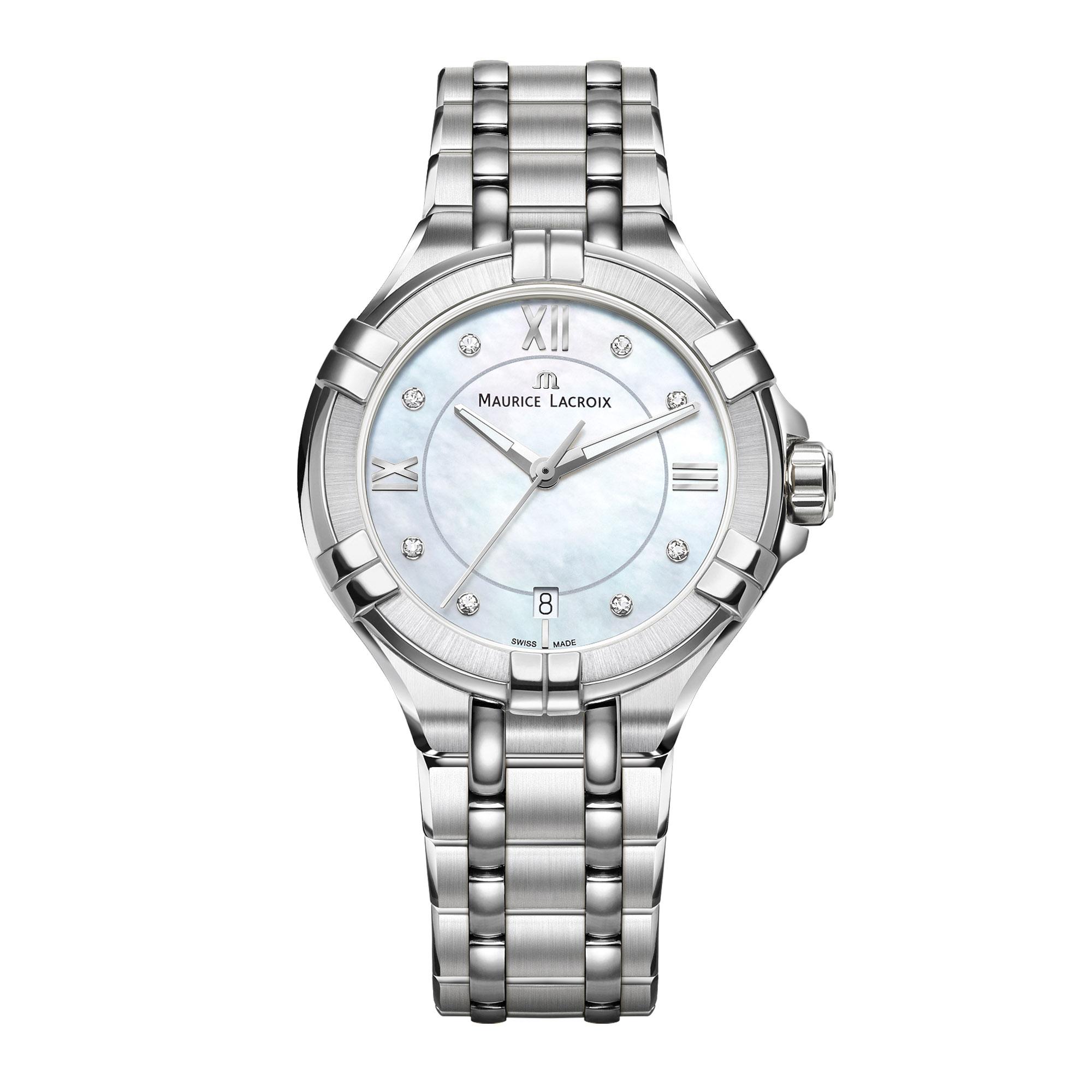 Maurice Lacroix Uhr Diamant Aikon Ladies Ai1006 Ss002 170 1