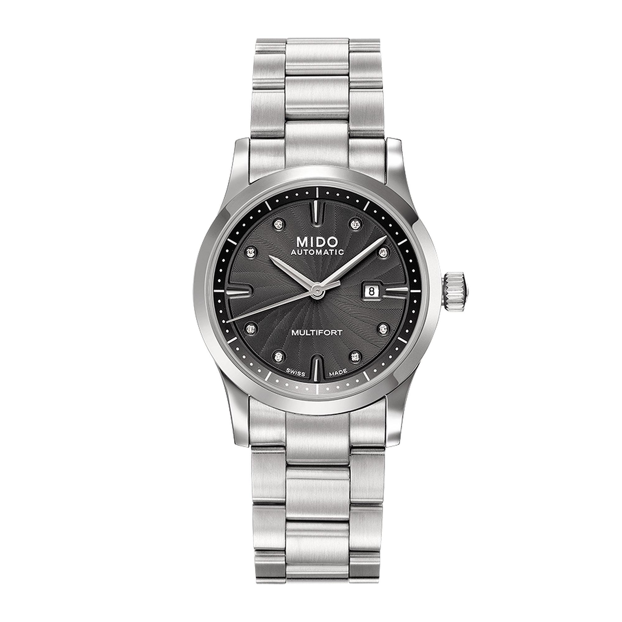 Mido Uhr Diamant Multifort M0050071106600 Juwelier Kraemer