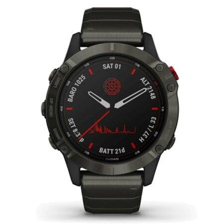 Garmin Uhr fenix 6 Pro Solar – 010-02410-23