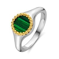 Ti Sento Milano Ring Malachite lights – 12207MA/54 – 54 mm