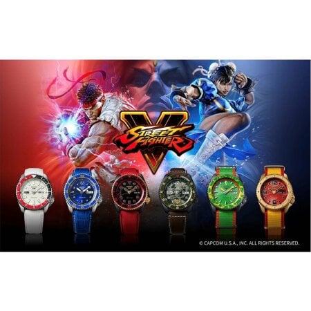 Seiko Uhr RYU - Street Fighter L.E. – SRPF19K1
