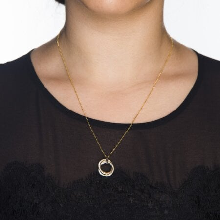 Juwelier Kraemer Kette Zirkonia 375/ - Gold