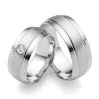 Juwelier Kraemer Freundschaftsring 925/ - Silber – 60 mm