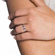 Juwelier Kraemer Freundschaftsring 925/ - Silber – 61 mm