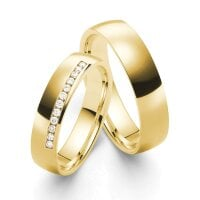 Juwelier Kraemer Trauringe GENUA 585/ - Gold