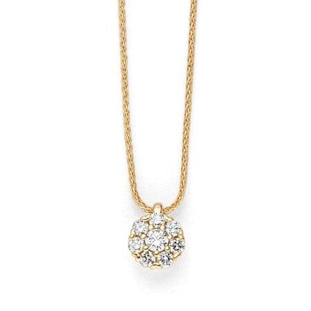 Juwelier Kraemer Kette Diamant 585/ - Gold – zus. ca. 0,20 ct