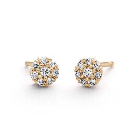 Juwelier Kraemer Ohrringe Diamant 585/ - Gold – zus. ca. 0,20 ct