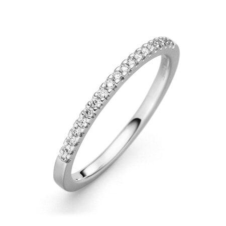 Juwelier Kraemer Ring Diamant 585/ - Gold – zus. ca. 0,12 ct – 54 mm
