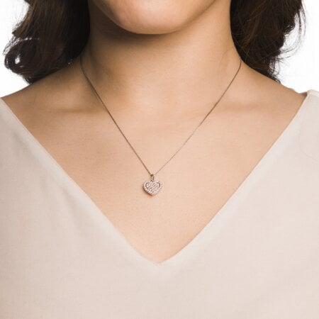 Juwelier Kraemer Kette Diamant 585/ - Gold – zus. ca. 0,35 ct