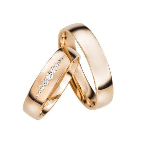 Juwelier Kraemer Trauringe LYON 585/ - Gold