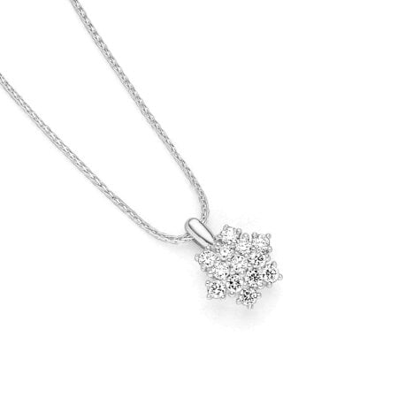 Juwelier Kraemer Kette Diamant 585/ - Gold – zus. ca. 0,30 ct