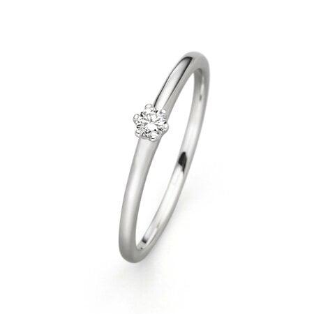 Juwelier Kraemer Ring Diamant 585/ - Gold – 0,05 ct – 56 mm
