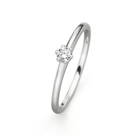 Juwelier Kraemer Ring Diamant 585/ - Gold – 0,10 ct – 52 mm