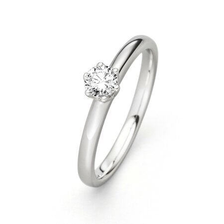 Juwelier Kraemer Ring Diamant 585/ - Gold – ca. 0,25 ct – 56 mm