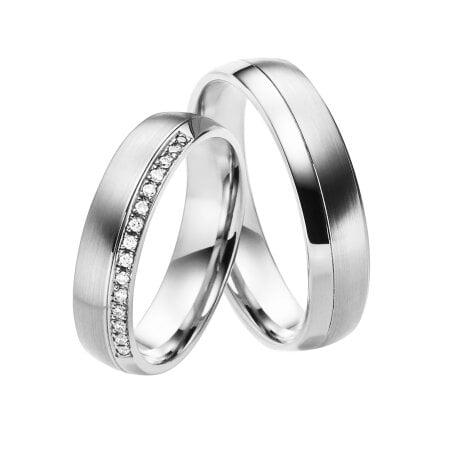 Juwelier Kraemer Trauringe ROM 600/ - Platin