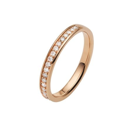 Juwelier Kraemer Trauring Diamant 585/ - Gold – zus. ca. 0,20 ct – 59 mm