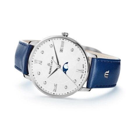 Maurice Lacroix Uhr Diamant Eliros Ladies Moonphase – EL1096-SS001-150-1