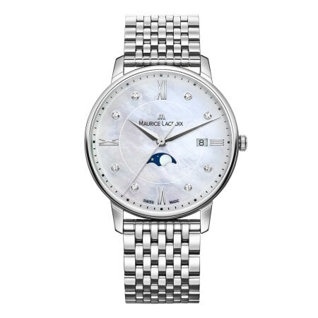 Maurice Lacroix Uhr Diamant Eliros Ladies Moonphase – EL1096-SS002-170-1