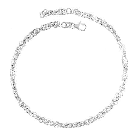 Juwelier Kraemer Fusskette 925/ - Silber