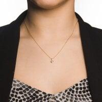 Juwelier Kraemer Kette Diamant 333/ - Gold | 0,08 ct