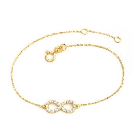 Juwelier Kraemer Armband Zirkonia 375/ - Gold