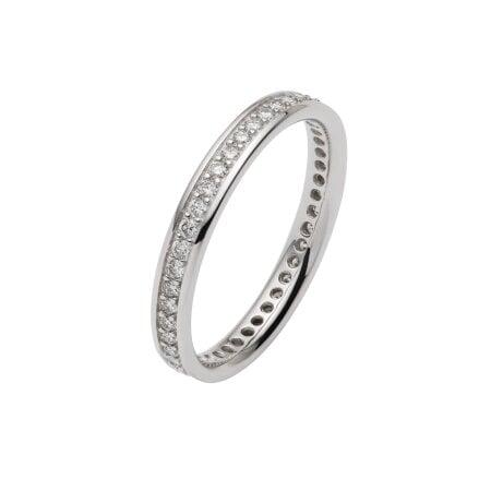 Trauring Diamant SIENA – B108657 – 54 mm