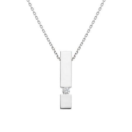 Juwelier Kraemer Kette Diamant 333/ - Gold – ca. 0,07 ct