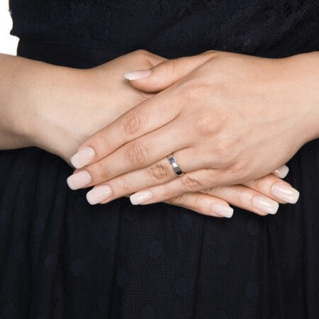 Juwelier Kraemer Ring Diamant 333/ - Gold – ca. 0,07 ct – 54 mm