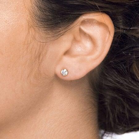 Juwelier Kraemer Ohrringe Zirkonia 585/ - Gold