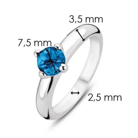 Ti Sento Milano Ring Blue Allure – 12126DB/56 – 56 mm