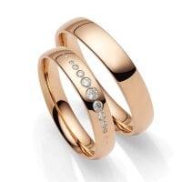 Juwelier Kraemer Trauringe VERONA 585/ - Gold