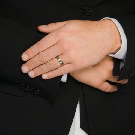 Juwelier Kraemer Trauringe WIEN 500/ - Palladium, 585/ - Gold