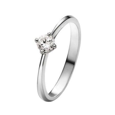 Juwelier Kraemer Ring Diamant 585/ - Gold – ca. 0,23 ct – 56 mm