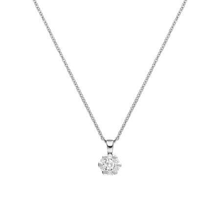 Juwelier Kraemer Kette Diamant 585/ - Gold – zus. ca. 0,10 ct