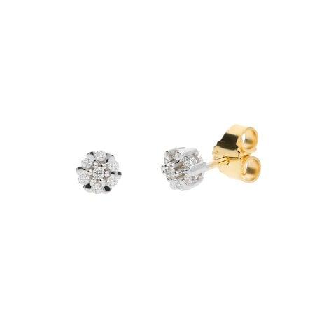 Juwelier Kraemer Ohrringe Diamant 585/ - Gold – zus. ca. 0,10 ct
