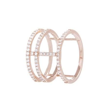 BRONZALLURE Ring Zirkonia WSBZ00531.WR-12 – 52 mm