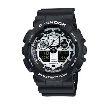 Casio Uhr G-Shock – GA-100BW-1AER