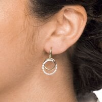 Juwelier Kraemer Ohrringe Zirkonia 375/ - Gold