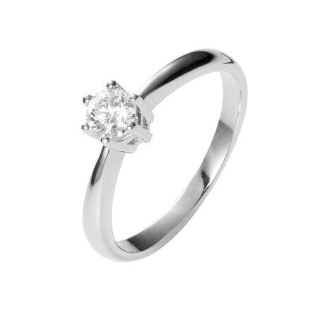 Juwelier Kraemer Ring Diamant 585/ - Gold – ca. 0,18 ct – 54