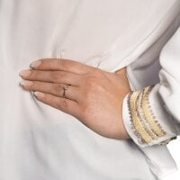 Juwelier Kraemer – Ring Diamant 585/ - Gold | 0,13 ct