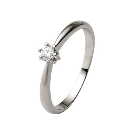 Juwelier Kraemer Ring Diamant 585/ - Gold – ca. 0,09 ct – 56 mm