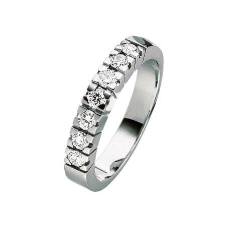 Juwelier Kraemer Ring Diamant 585/ - Gold – zus. ca. 0,50 ct – 52 mm