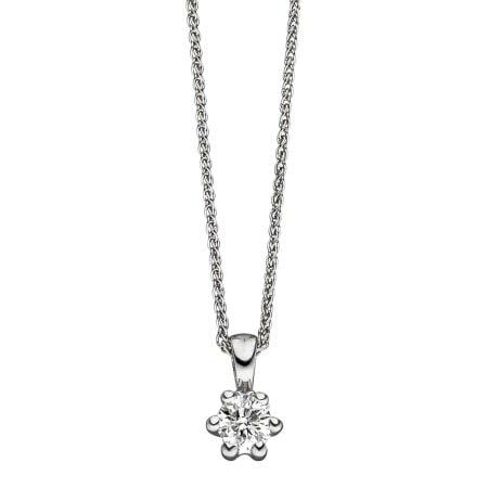 Juwelier Kraemer Kette Diamant 585/ - Gold – ca. 0,34 ct